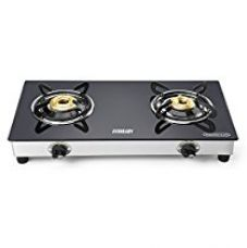 Buy Eveready TGC2B Glass Top 2 Burner Gas Stove - Black from Amazon