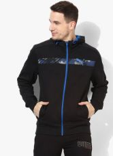Get 35% off on Puma Active Hero Fz Black Sweat Jacket