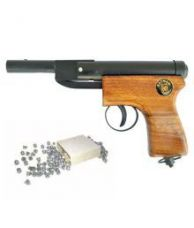 Flat 43% off on Prijam Air Gun BBW-007 Model with Metal Body for Target Practice 100 Pellets Free