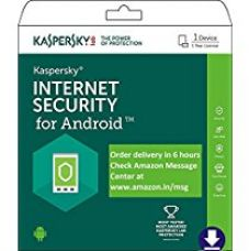 Kaspersky Internet Security for Android Latest Version- 1 Device, 1 Year (Email Delivery in 2 hours- No CD) for Rs. 99