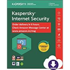 Buy Kaspersky Internet Security Latest Version - 1 PC, 1 Year (Email Delivery in 2 hours- No CD) from Amazon