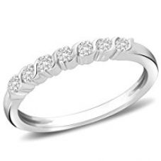 Peora Candid Journey CZ Ring in 925 Sterling Silver Rhodium Finish for Rs. 567