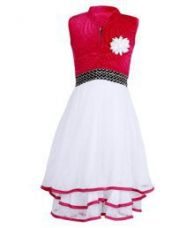 Buy Addyvero Multicolor Velvet Dress from SnapDeal