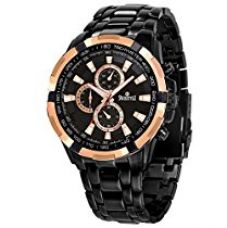 Buy Swisstyle Anolog Black Dial Men's Watch-SS-GR06612-BLK-CH from Amazon