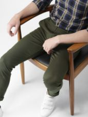 Buy Men Slim Fit Chinos for Rs. 699