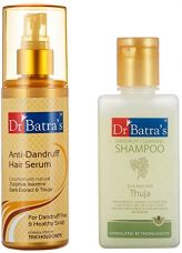 Dr Batras Anti Dandruff Hair Serum, 125ml with Free Dr Batras Dandruff Cleansing Shampoo, 100ml for Rs. 657