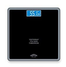 Buy Hoffen Digital Elecronic LCD Personal Body Fitness Weighing Scale from Amazon