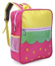 Buy Printed School Bag Pink Yellow - 12.9 inches from FirstCry