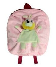 Buy Little Hug Soft Toy Bag Bunny Design Light Pink - 11.9 for Rs. 239