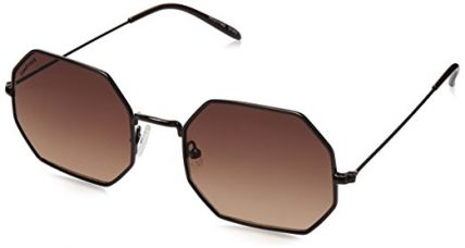 Buy Fastrack UV Protected Men's Sunglasses - (M152BR2|55|Graduated Brown Color) from Amazon