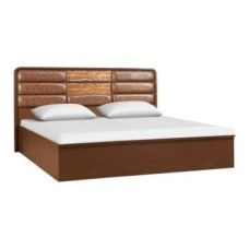 Flat 59% off on Venessa King Bed With Full Hydraulic Storage