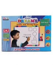 Buy Ratnas Wonder Dreams Double Side Writing Board - Green for Rs. 636