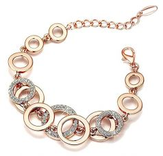 Buy Yellow Chimes Circles of Love Charm Bracelet for Women (Rose Gold)(YCFJBR-618CRCLS-RG) from Amazon