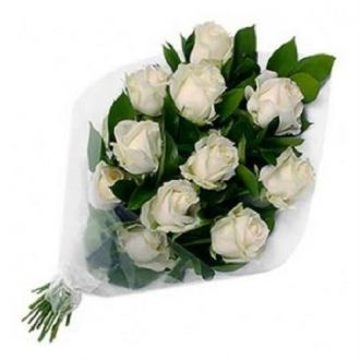 Buy Fresh Flower Bouquet (Bunch Of 10 Roses) - FFBU0008SW from Amazon