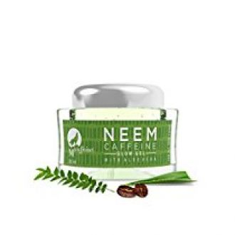 Mcaffeine Neem Caffeine Glow Gel 50 Ml With Aloe Vera - Paraben Free for Rs. 409