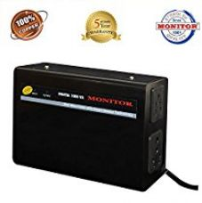 Buy Monitor Voltage Stabilizer For LED TV Upto 65 Inches / 3-Amps (100% Copper) With 5-Year Warranty from Amazon