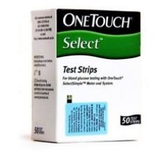 OneTouch Select Simple 50 Test Strips for Rs. 979