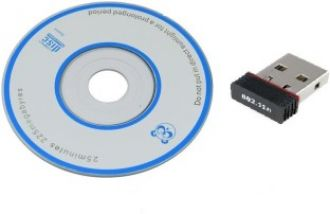 Buy Terabyte 802 Wi-Fi Receiver 500Mbps 2.4Ghz 802.11B/G/N 2.0 Wireless Wi-Fi Network USB Adapter from Flipkart