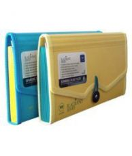 Flat 47% off on Worldone Expanding Cheque Book Folder Set of 2