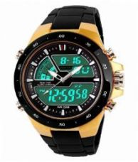 VB ENTERPRISE MULTIFUNCTION GOLD ANALOG-DIGITAL SPORT WATCH for Rs. 599