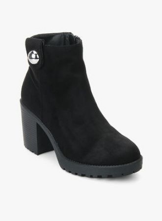 Get 50% off on Dorothy Perkins Malice Black Boots