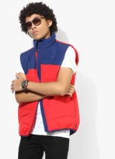 Puma Ess Padded Red Quilted Jacket for Rs. 2470