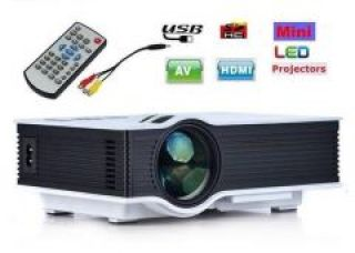 Flat 68% off on Vizio Uc46 Mini Portable HD LED Home Theater Cinema Projector With 1200 Lumens