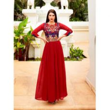 Sutva Red Embroidere for Rs. 1,976
