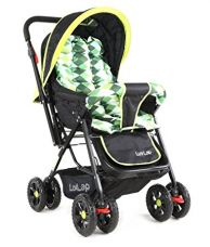 Luvlap Sunshine Baby Stroller (Green Checks) for Rs. 2,939
