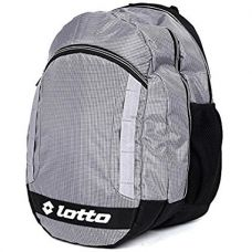 Buy Lotto 25 Ltrs Grey Black Laptop Backpack (CB150048) from Amazon