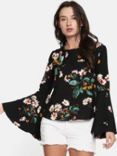 Buy Printed Top from Myntra