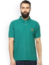 Solid Polo Collar T-shirt for Rs. 419