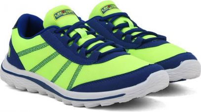 Buy Lee Cooper Running shoes For Men  (Blue, Green) from Flipkart