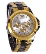 Buy VB ENTERPRISE STYLISH GOLD ANALOG WATCH for Rs. 299