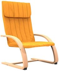 Forzza Eva Kid's Chair (Matt Finish, Yellow) for Rs. 843