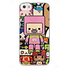 MoArmouz® - Cute Neon Pink and Green Cartoon Case for Back Case Cover for Apple iPhone 5 5S SE - Printed Back Cover Case for Apple iPhone 5 5S SE for Rs. 199