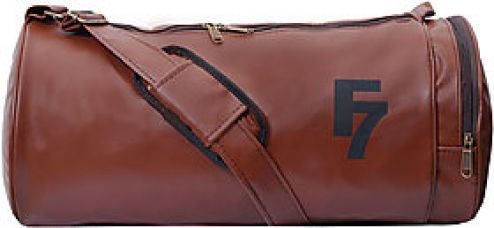 Buy F 7 Antique Leatherite Gym Bag from ShopClues