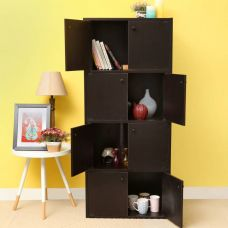 Buy Home Full Aston Engineered Wood Free Standing Cabinet  (Finish Color - WENGE) from Flipkart