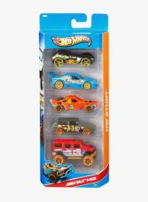 Buy Hot Wheels Five-car Gift Pack Assortment, Colors and Designs Might Vary from jabong