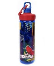 Flat 22% off on Marvel Spiderman Transparent Screw Cap Bottle Red Blue...