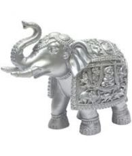 Get 10% off on Boon Silver Resin Decorative Elephant - Pack of 1