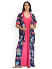 Pack Of 2 Nightdress-Robe Set for Rs. 1199