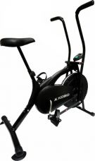 Buy Kobo Air Delux Cycle Black Upright Stationary Exercise Bike  (Black) for Rs. 5,699