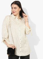 Get 50% off on Dorothy Perkins Ivory Printed Shirt