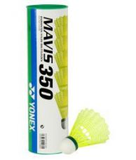 Buy Yonex Mavis 350 Badminton Nylon Shuttle Cock Pack of 6 for Rs. 915