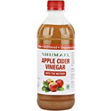 SHUMAEL Raw Apple Cider Vinegar With The Mother 473 ml | Unfiltered & Undiluted | For Weight Loss, Hair & Skin Treatment for Rs. 349