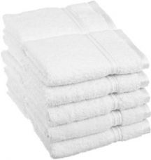 Buy iLiv Set Of 10 White Face Towel for Rs. 299