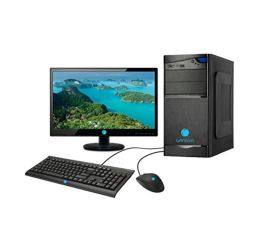 GANDIVA Core 2 Duo, G31 Motherboard, 4GB DDR2 RAM, 500GB SATA HDD, Without DVD Drive, 15.6