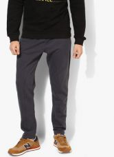 United Colors of Benetton Dark Grey Solid Track Pants for Rs. 999