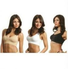 Buy Imported Slim N Light Sports Air Bra (pack Of 3) from Rediff